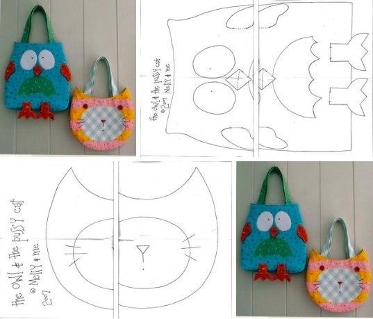 Детские сумки для девочек своими руками выкройки