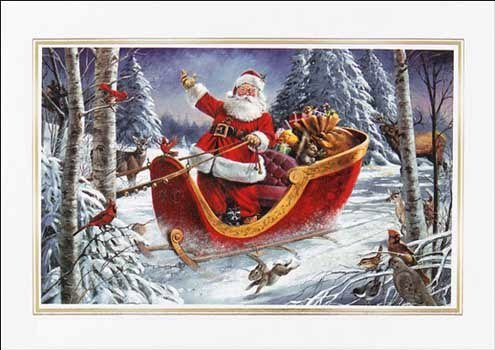 Ну вот, и к нам заехал Дед мороз!!!