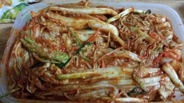южно-корейское кимчи фото.