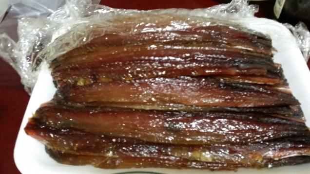Зимний деликатес в Корее.