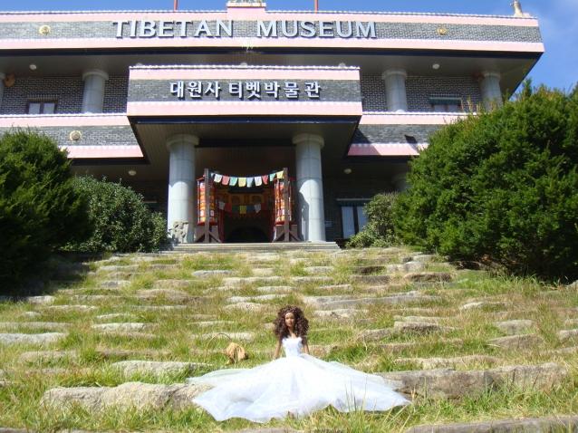 ТИбетский музей в Корее с куклами