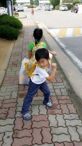 мой сынок в Корее.