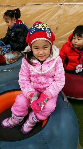 снежная горка в Южной Корее