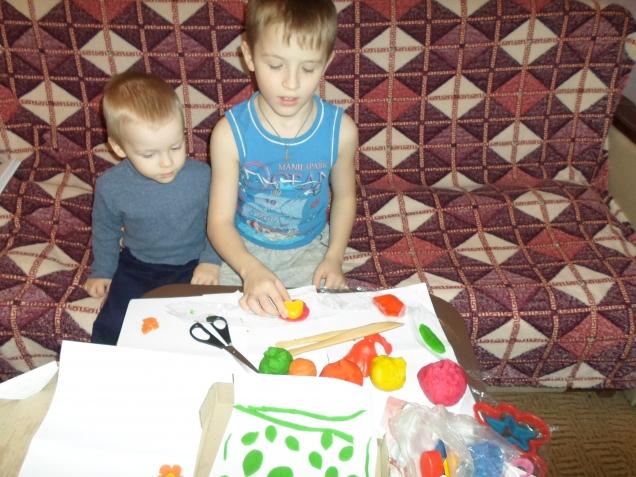 Проба соленого теста( пластилина для детей) по рецепту Натальи(suok)