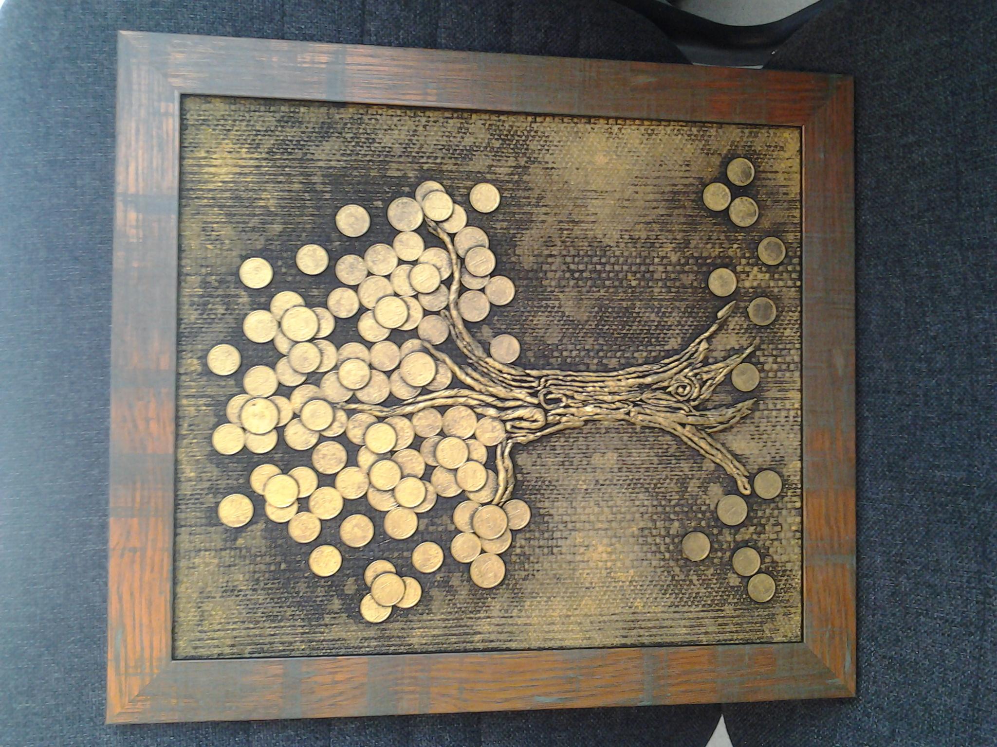 Денежное дерево поделки своими руками 85