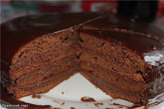 """Торт """"Прага"""" или """"Пражский"""" торт"""