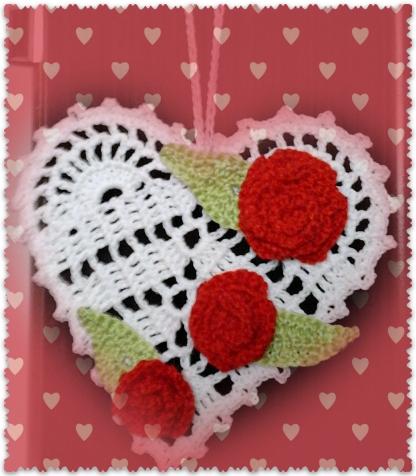 Подвески - валентинки