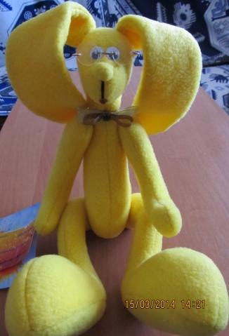 Текстильная игрушка.
