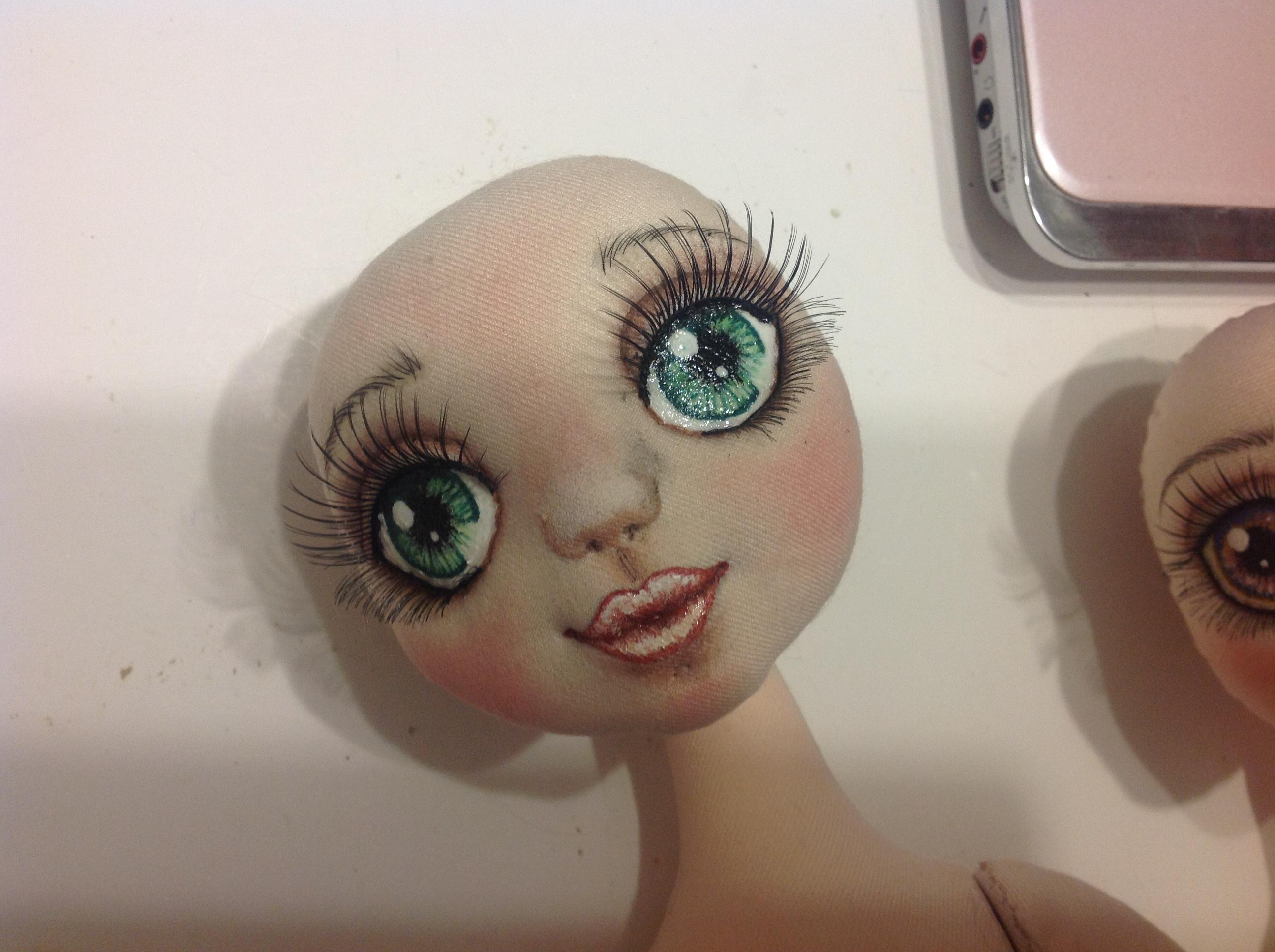 Как нарисовать кукле лицо своими руками 8