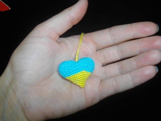Украинское мини-сердечко