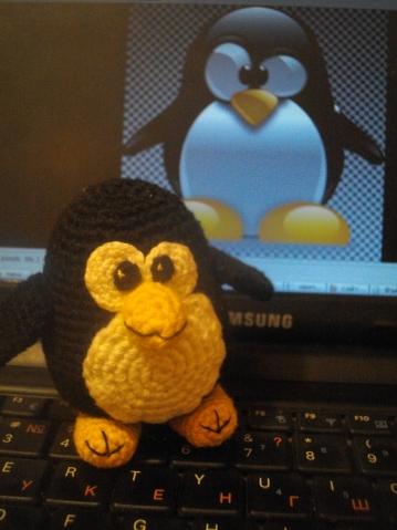 Пингвинчик TUX