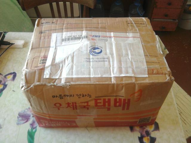 Подарок из Кореи