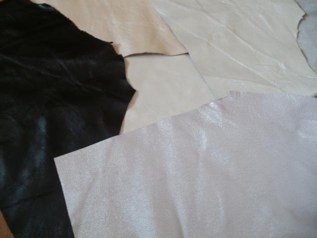 Лоскутки натуральной кожи