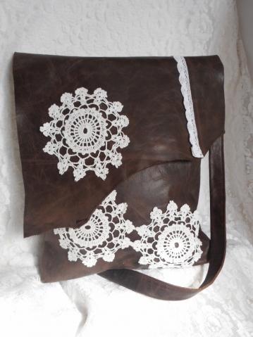 Новые кожаные сумки