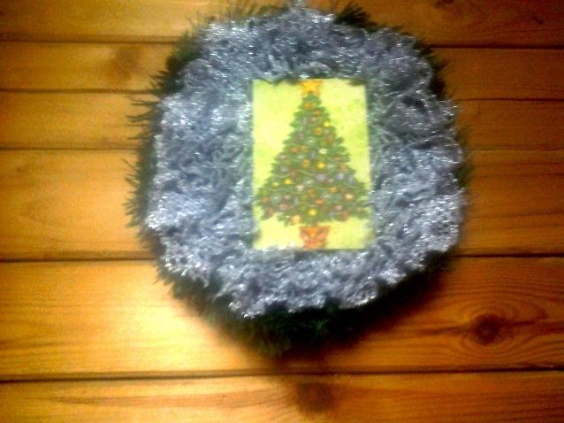 Новогодняя украшалочка для дома