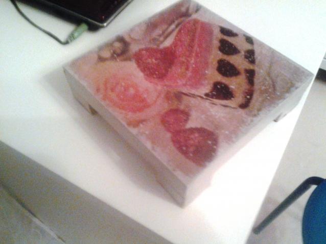 Пироженка  в снегу. Подставка для кухонных нужд