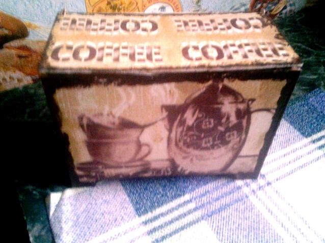 Кофейная коробочка