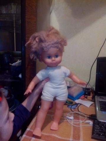 реставрация садиковской куклы