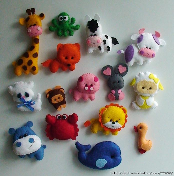 Мелкие игрушки своими руками