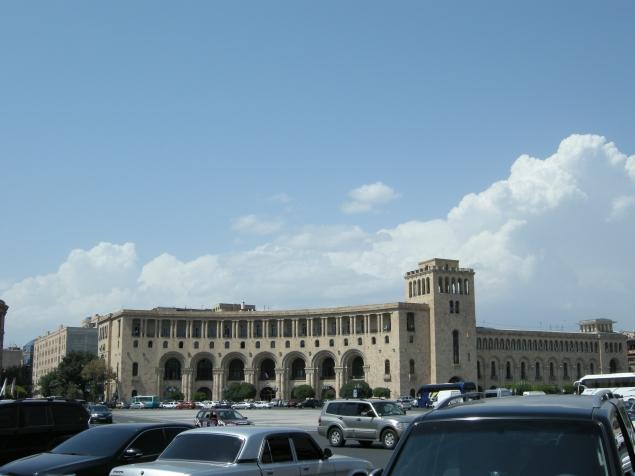 Мое путешествие по Армении. Часть 1. Прогулка по Еревану