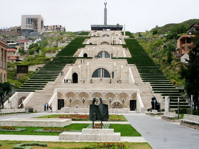 Путешествие в Армению. Часть 4. Каскад