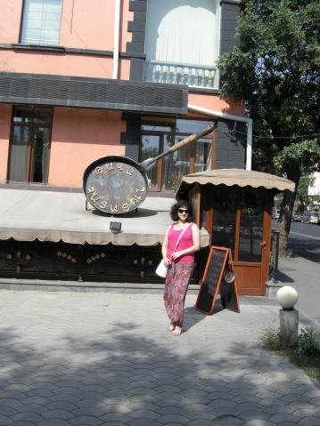 Путешествие в Армению. Часть 5. Кафе и магазины