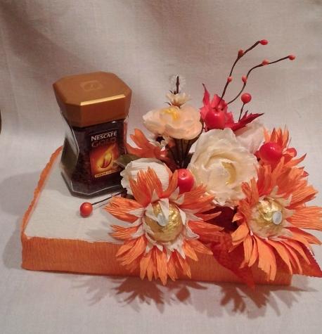 Осенний букет, букет из конфет, конкурс
