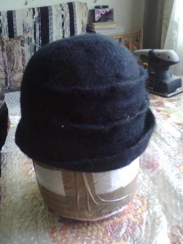 Моя первая, надеюсь не последняя шляпа.