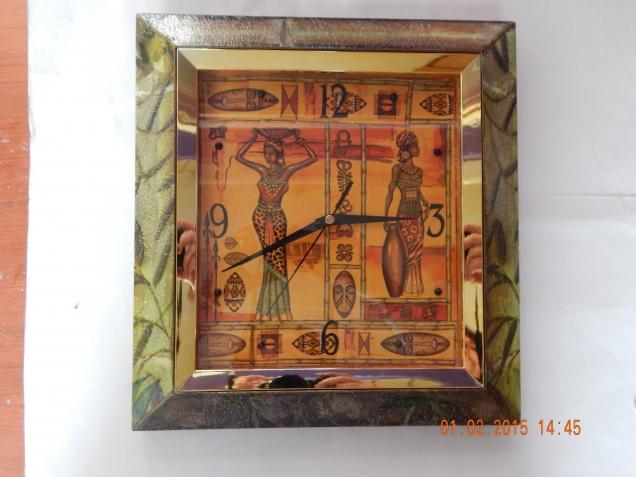 Часики в африканском стиле