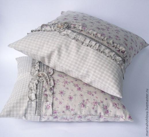 Наволочки своими руками на декоративные подушки