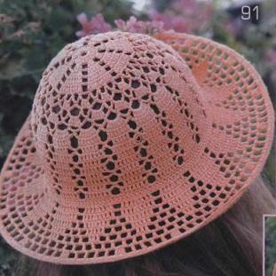 Заказ для мастера по вязанию шляпок.