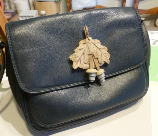 Обновила любимую сумочку