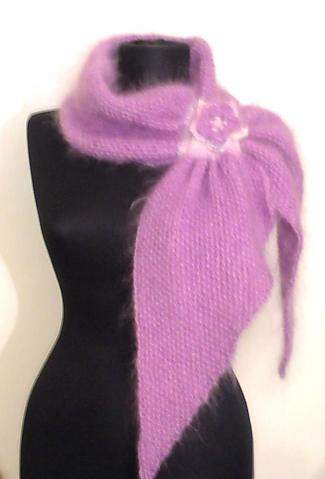 Два комплекта и одна схема шарфа