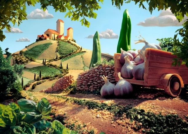 Пейзажи, которые можно съесть!!!!!