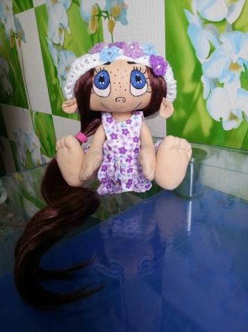 Выкройка куколки от Юлии Соломатовой