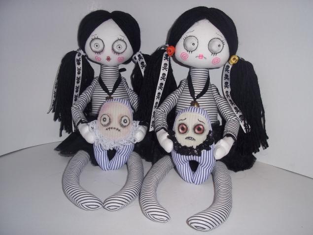 Мои готические куколки