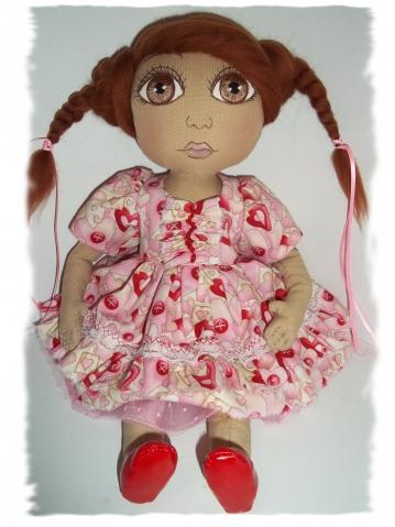 Куколка для внучечки.