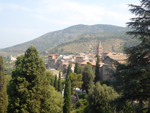 Каникулы в Италии. Тиволи - фонтаны виллы д'Эсте