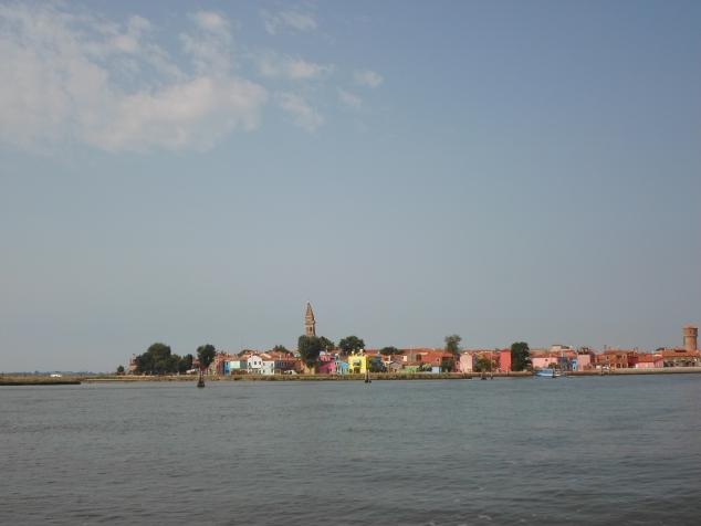 Каникулы в Италии. Прогулка по острову Бурано.