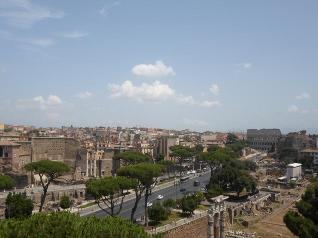 Итальянские каникулы. Рим. Вечный город - первая встреча.