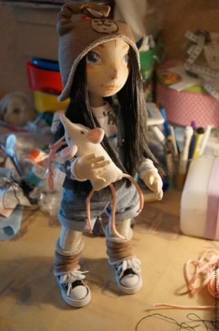 МК по пошиву текстильной куколки Лорочки.
