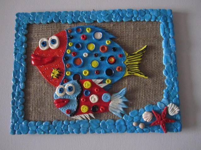 Рыбки..........(.соленое тесто)