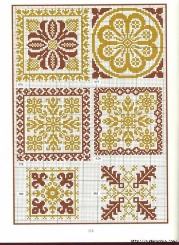 Вышивка крестом монохром миниатюры схемы 65