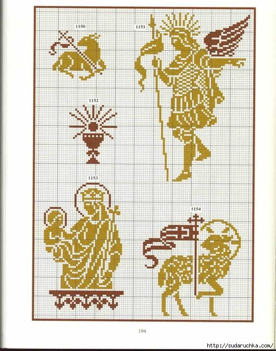 Схема вышивки гречанки 67