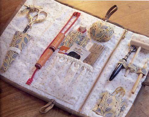 Органайзер из ткани для мелочей своими руками