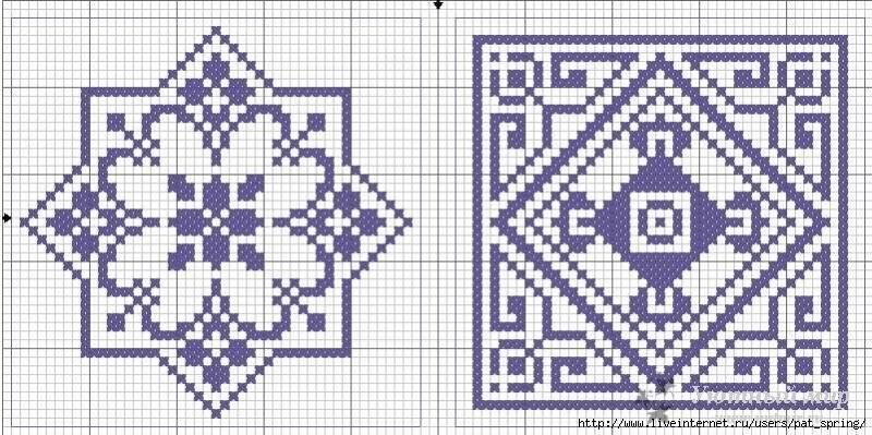 Вышивки крестом схемы мастер класс