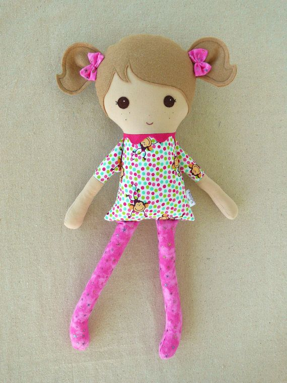 Простейшие куклы своими руками