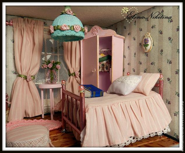 Интерьер для кукольного домика своими руками