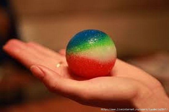 Как своими руками сделать мячик из
