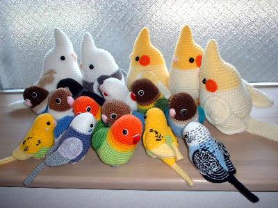 Вязание птиц крючком игрушки